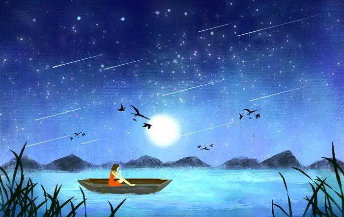 鸢尾花    飞鸟和鱼的爱情(诵读)