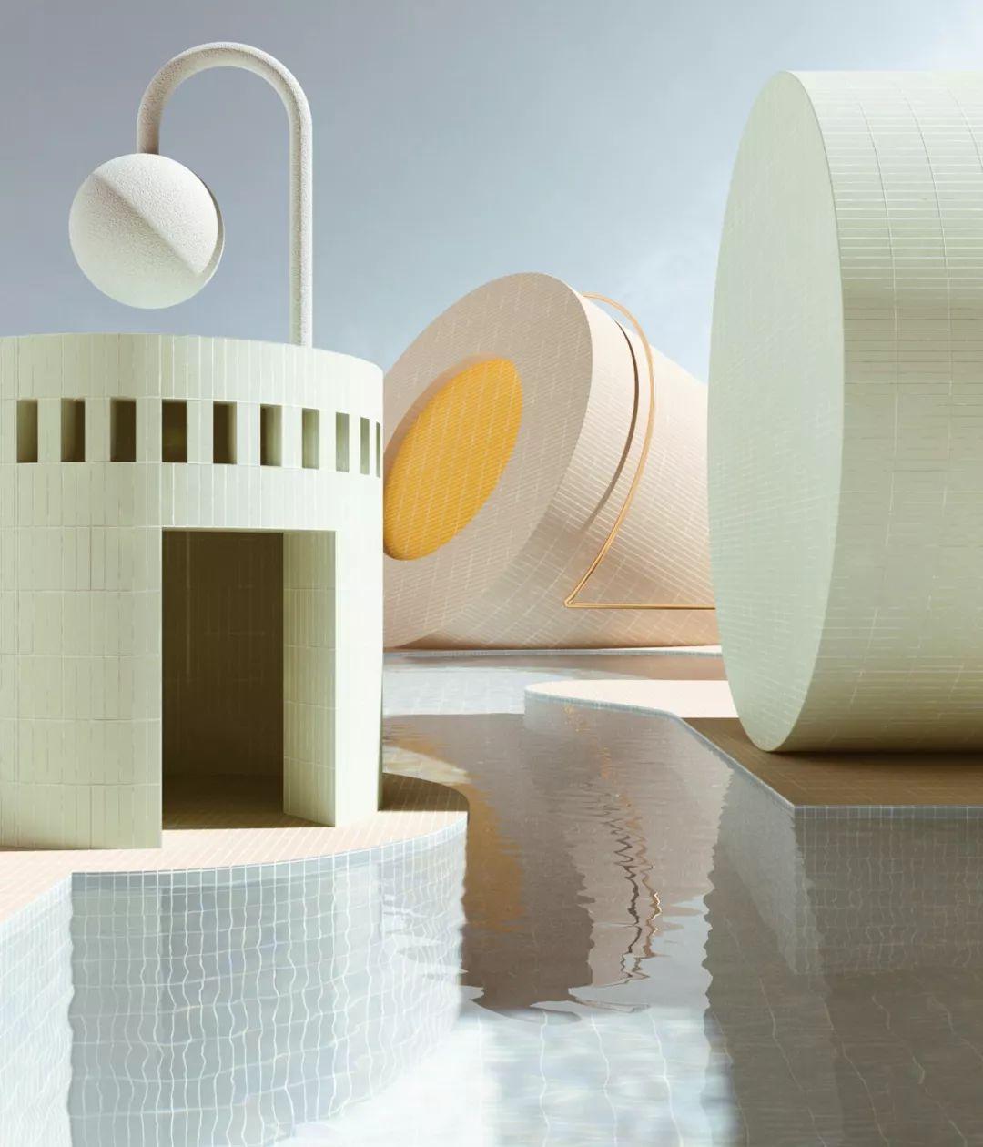 Alexis Christodoulou   渲染艺术家梦幻般的空间