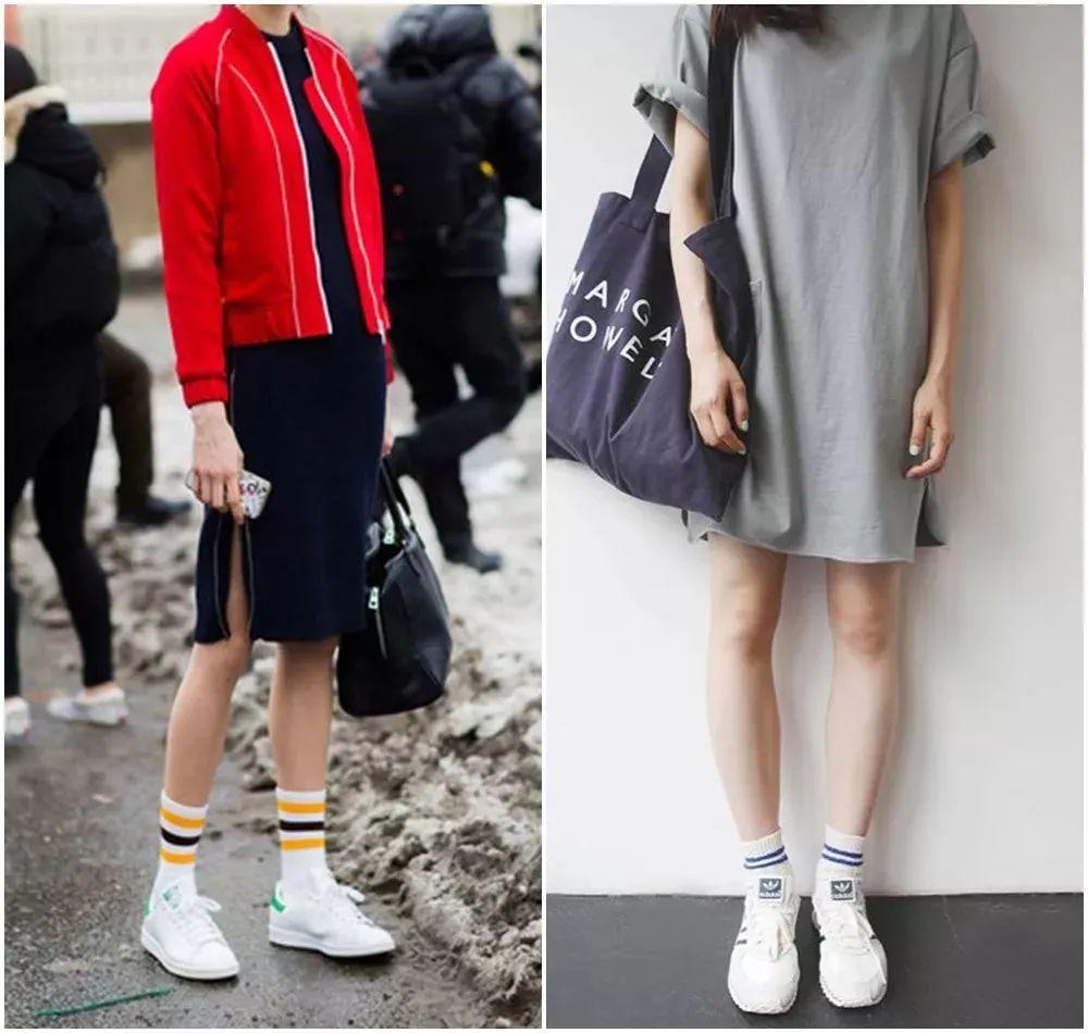 谁说小白鞋过时了?刘雯、江疏影才不会放弃舒服好看的它们呢!