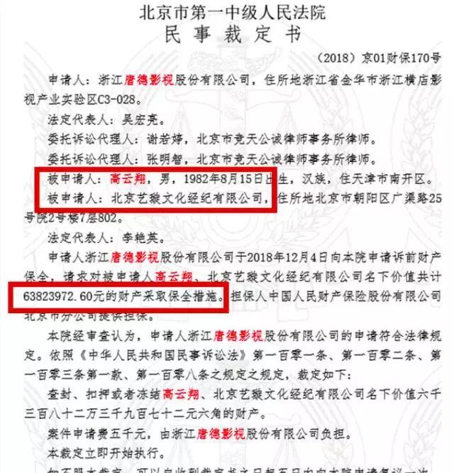 董璇被高云翔拉下水?老公遭起诉,自己的巨额财产也被冻结!