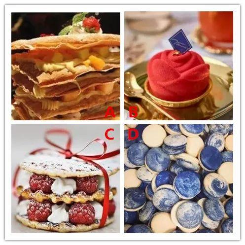 4款法式甜点选一个,测试你在什么时候结婚最合适?