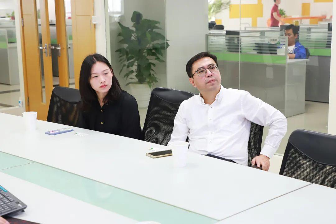中民新能物联总裁张雷一行到访云创