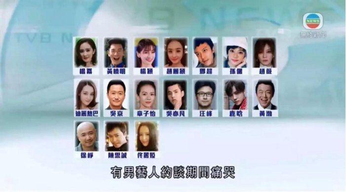 17名艺人被约谈名单曝光!明星排队补税,崔永元表示为国家追回百亿税金!