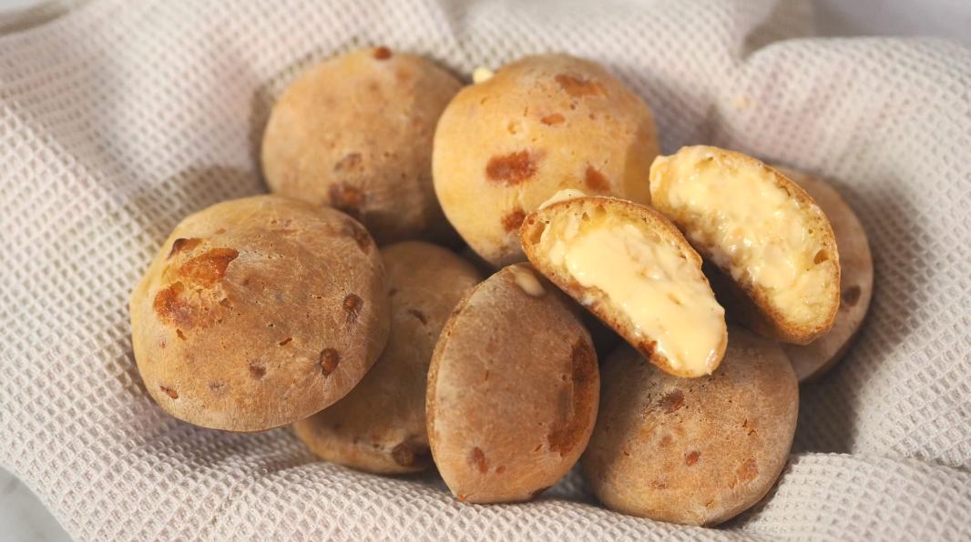 网红麻薯爆浆团子,一咬就爆,十几块能做一篮子!
